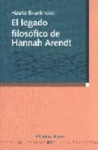 legado filosofico de hannan arendt-hauke brunkhorst-9788497425346