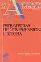 estrategias de comprension lectora antonio gonzalez fernandez 9788497561846