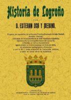 historia de logroño (ed. facsimil) esteban oca y merino 9788497617246