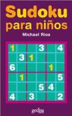 sudoku para niños michael rios 9788497841146