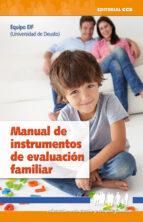 manual de instrumentos de evaluacion familiar 9788498421446