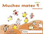 muchas mates 9.educacion infantil  3/5-9788498775846