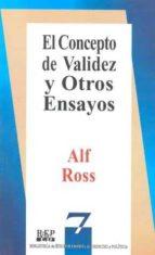 el concepto de validez y otros ensayos-alf ross-9789684761346