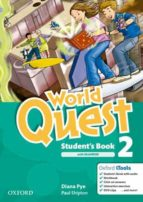 world quest 2 student s book+mrom pk ed 2013 9780194125956