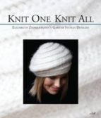 knit one knit all: elizabeth zimmermann s garter stitch designs elizabeth zimmermann 9780942018356