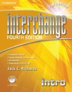 interchange intro full contact with self study dvd rom 4th edition 9781107614956