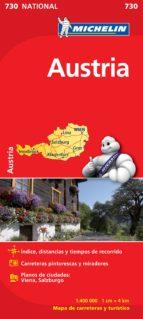 mapa austria 2012 (ref. 730) 9782067171756
