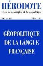 H126 geopolitique langue franc FB2 PDF por Revue herodote 978-2707152756