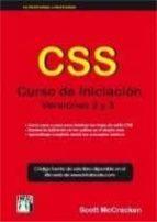 css curso de iniciacion: versiones 2 y 3 scott mccracken 9788415033356