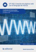 creación de páginas web con el lenguaje de marcas. ifcd0110 (ebook)-ramon guerrero perez-9788416351756