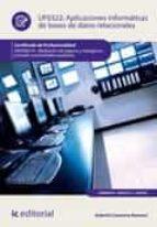 aplicaciones informáticas de bases de datos relacionales. adgn0210 (ebook)-gabriel carmona romera-9788417224356