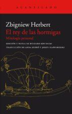 el rey de las hormigas-zbigniew herbert-9788417346256