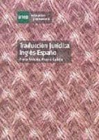 traduccion juridica ingles español mª antonia alvarez calleja 9788436248456