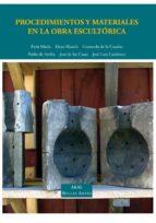 procedimientos y materiales en la obra escultorica-pablo de arriba-9788446018056