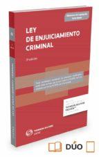 ley de enjuiciamiento criminal ricardo alonso garcia 9788447050956