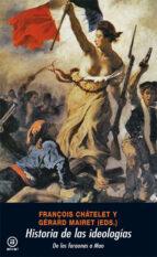historia de las ideologias-françois chatelet-9788476003756