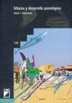 musica y desarrollo psicologico david j. hargreaves 9788478271856