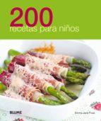 200 recetas para niños 9788480769556