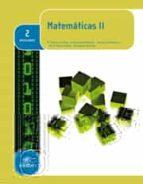 matemáticas ii 2º bachillerato ed 2016-9788490787656