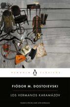 los hermanos karamázov-fiodor mijailovich dostoyevski-9788491050056