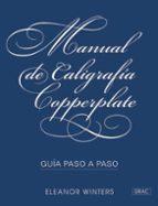 manual de caligrafia copperplate: guia paso a paso-9788498745856