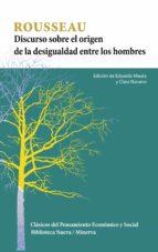 discurso sobre el origen de la desigualdad entre los hombres jean jacques rousseau 9788499407456