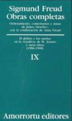 obras completas (vol. ix): el delirio y los sueños sigmund freud 9789505185856