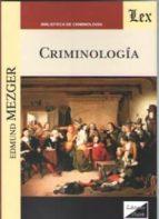 criminologia edmund mezger 9789563920956