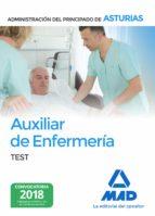 auxiliar de enfermeria de la administracion del principado de asturias. test-9788414215166
