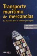 transporte maritimo de mercancias rosa romero 9788416171866