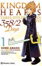 kingdom hearts 358/2 days 1 shiro amano 9788416308866