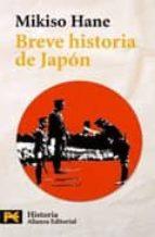 breve historia de japon mikiso hane 9788420655666