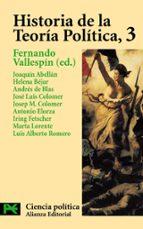 historia de la teoria politica (vol. 3)-9788420673066