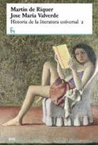 historia de la literatura universal 2-jose maria valverde-martin de riquer-9788424928766