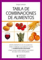 tabla de combinacion de alimentos sonja carlsson 9788425514166