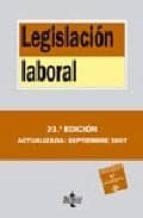 legislacion laboral (23ª ed.)-9788430946266