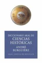 diccionario de ciencias historicas (ed. economia) andre burguiere 9788446012566