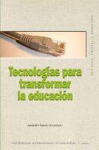 tecnologias para transformar la educacion-9788446024866