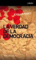 la verdad de la democracia jean luc nancy 9788461090266
