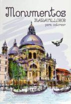 monumentos maravillosos para colorear-9788466233866