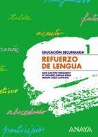 refuerzo de lengua, 1º educacion secundaria-9788466759366