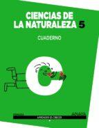 ciencias de la naturaleza 5. cuaderno. 5º tercer ciclo-9788467862966