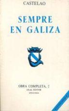 castelao. obra completa. tomo 2. sempre en galiza-alfon castelao (rodriguez castelao-9788473391566