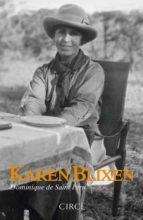 karen blixen-dominique de saint pern-9788477653066