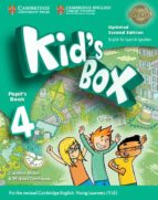 kid s box level 4 pupil s book updated english for spanish speakers-9788490365366