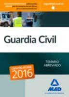 guardia civil. temario abreviado-9788490935866