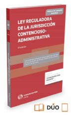 ley reguladora de la jurisdicción contencioso administrativa ricardo alonso garcia 9788490993866