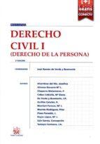 derecho civil i  (2ª ed.): derecho de la persona 9788491195566
