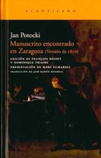 manuscrito encontrado en zaragoza (version de 1810) jan potocki 9788492649266