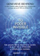 tu poder invisible geneive behrend 9788494602566